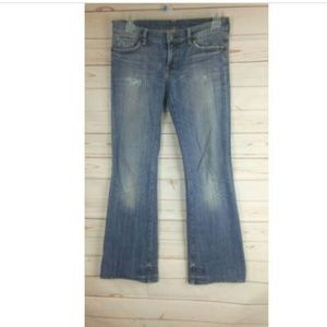 Citizens Of Humanity Distressed Boot Cut Jeans
